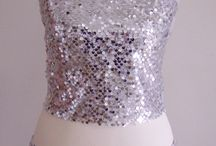 The Great Beauty - #Outfit / #Miniskirt #CropTop #Paillettes #Handmade -- dedicated to 'The Great Beauty' -- sold