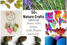 Rock Painting & Stick Crafts for Kids