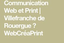 WebCréaPrint / WebCréaPrint. Communication web et impression publicitaire. 12200 Villefranche de Rouergue