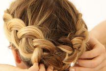 Vlechtje kort haar / Maak een vlechtje in je korte haar. Je krijgt een fantastisch accent in je haar!