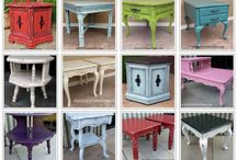 End table refinishing  ideas