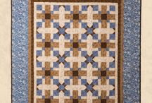Multi-sized Quilt Patterns / These quilts are patterns designed by Michele Crawford for Flower Box Quilts; and are available to purchase online.