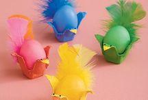 Velikonoce kuřátka