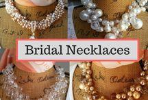 Bridal Necklaces / Beautiful Bridal Necklaces