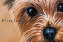 Art4Pets Pet Portraits and Wildlife / Art4Pets is an official name under which I create commissioned pet portraits and wildlife art.