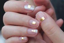 Nails dorado