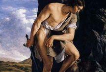 Caravaggeschi italiani / Serodine il più  colorista del gruppo. Poco dopo il 1620 il caravaggismo a Roma ha perso la sua attrattiva.