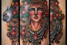 Tattoos Guen Douglas Berlin / Guen Douglas tattoos Berlin