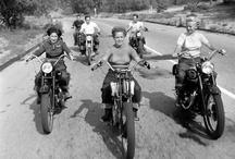 Chicks on bikes