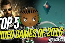 Top 5 Best Video Games of 2016 - Game of the Month August 2016 Edition