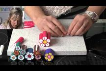 Polymer Clay Cane, Buttons & Landscape Tutorials