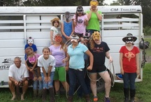 Friday Funday at Summer Horse Camp / Making Friday at Camp, the best day of all!