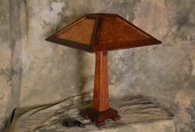 Holland Mica Arts and Crafts Reading Lamp