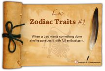 Leo Zodiac Traits / Find out about Leo characteristics and Leo personality traits.