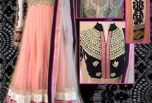 For the love of anarkali / Anarkalis indian fashion