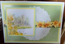 Handmade By Card Art Easter and St Patrick's Day