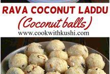 cocnut rawa ladoo by khushi