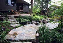 natural stone in gardening