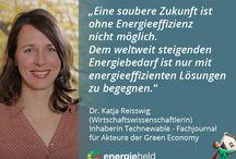 Statements für die Energiewende