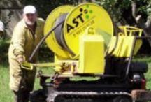 LIMPIEZA de ALCANTARILLADO  / Equipos especiales para limpieza y mantenimiento de red de saneamiento