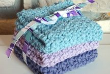 Crochet - dishcloths; coasters; potholders