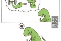 dangers of being a dinosaur