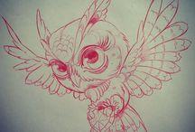 Uil tattoo