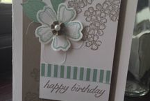 Birthday Blossoms Stampin Up