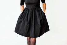 sidenklänning