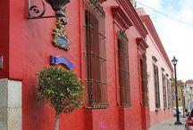 Mexican facades & decor / Fachadas Mexicanas & decoración / The color and beauty of Mexican facades and decor will enchant you!  /  El colorido y belleza de las fachadas y decoraciones Mexicanas te encantará