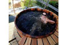 Northern Lights cedar hot tub - 1391607848