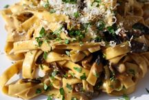 Pasta recipes to try / by Deirdre @ Grabbing the Gusto