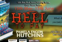 Hell to Pay by Pamela Fagan Hutchins / https://www.goodreads.com/book/show/28418034-hell-to-pay?from_search=true&search_version=service