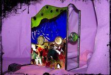 Creaciones Tiffany por Flor Casablanca / Artículos decorativos realizados con esta técnica por Flor Casablanca