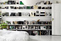 Shelves / Shelve inspiration.