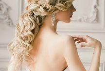 Wedding hair, makeup, nails... :)