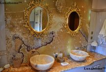 Vanity stone sinks - Bowl Stone Sinks GEMMA 501 / Vanity stone sinks - Bowl Stone Sinks GEMMA 501. We produce bowl stone wash basins. Model GEMMA 501: 35x35x15 cm; 40x40x15 cm; 45x45x17 cm and 50x50x20 cm. Possible stone: yellow onyx; cream marble, grey marble, black marble, yellow marble, andesite.  We are looking for importers & wholesalers of stone sinks, marble sinks, rock sinks etc.