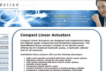 Compact Linear Actuator | HydraMotio