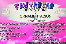 FANTASÍAS REPOSTERÍA Y ORNAMENTACIÓN  FABY GARZON / MIS TRABAJOS DESDE CASA