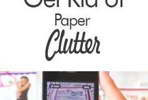 get read of clutter