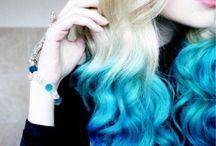 Quiero el pelo azul