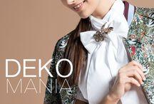Deko-Mania / Wir zeigen Euch wie man die neue Opulenz der Deko-Mania Looks richtig stylt ► http://bit.ly/KONEN-Deko-Mania-FS17 Regeln sind bekanntlich da um sie zu brechen – das gilt ganz besonders in der Mode!