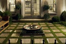 Courtyard feature