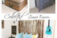 Guest Bedroom Inspiration / Inspiring Guest Bedroom Decor Ideas