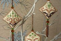 ornamente brad craciun cusute