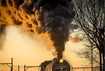TRAIN  PHOTOS / Collection of Photos of Trains, Mainly Steam Trains