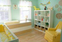 Yellow baby room
