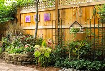 Fanciful fence / Privacy fencing