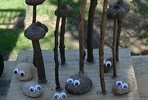 Nature Projects / Ideas for projects to do or make with your nature finds.
