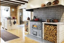 Stoves / Wood burning stoves / by Pussins Rose